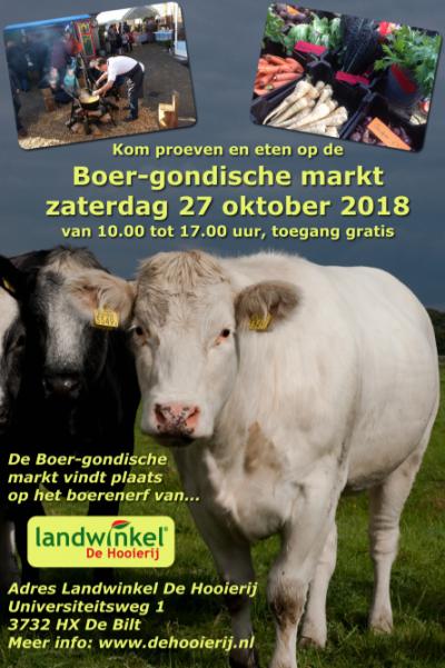 Boer-gondische markt