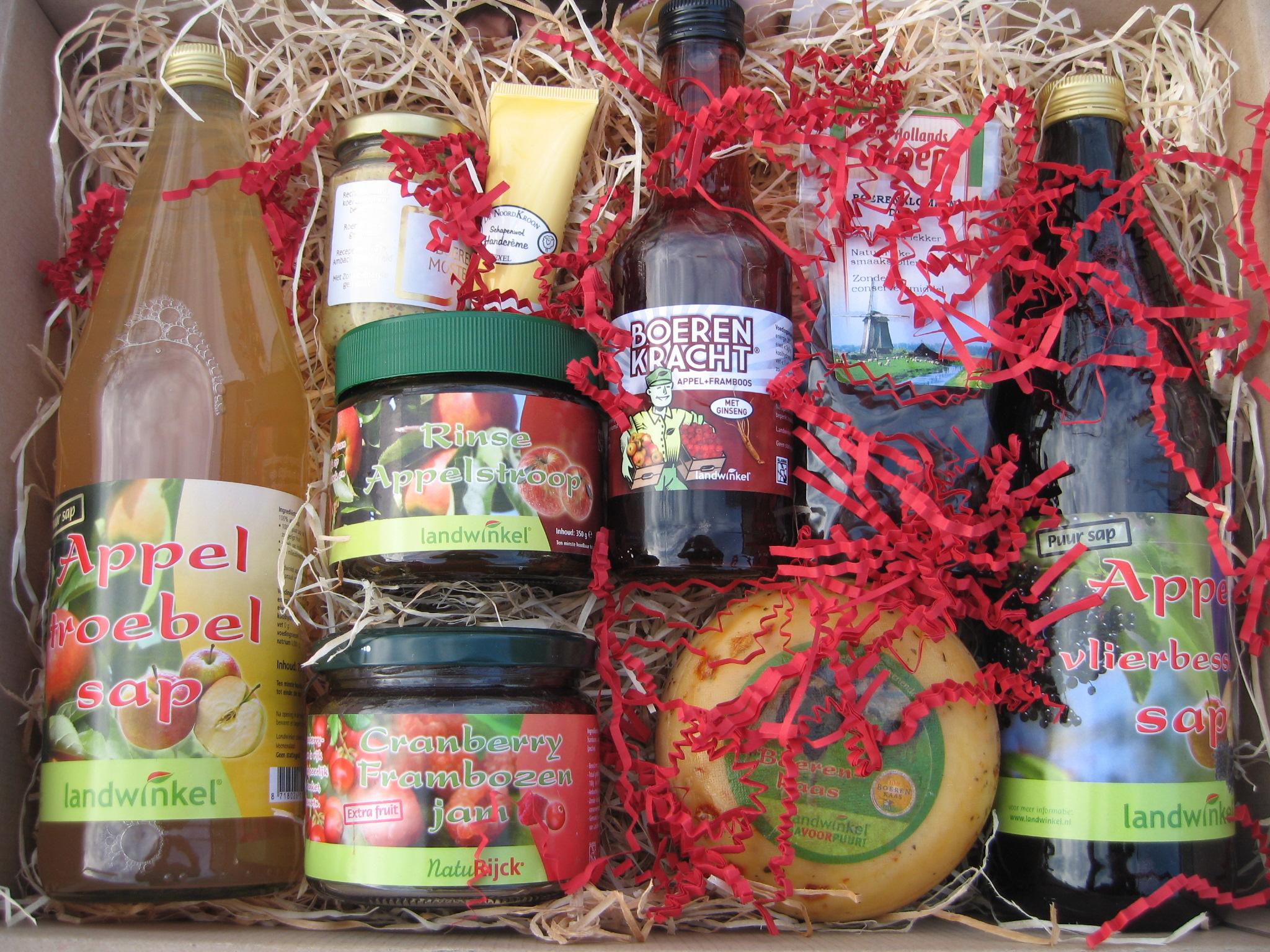 Kerstpakketten Landwinkel De Hooierij